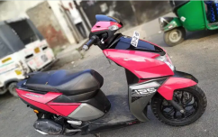Tvs NTORQ red model 2018