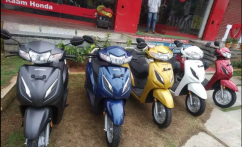 bumper Offers Dashara honda activa