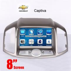 Chevrolet Captiva 2006-up Car DVD Player GPS Radio camera