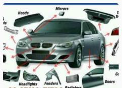 Spart Parts For BMW Car