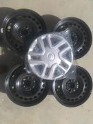 4 PCS 16 inch Unused Rims with Wheel CAPS taken from Vitara Brezza