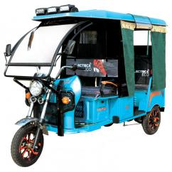 Electric rickshaw in Assam