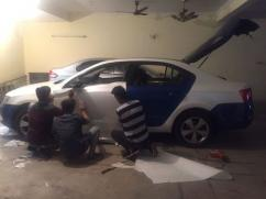 Intens CAR WRAPPING TRAINING IN INDIA