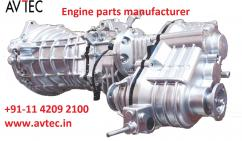 PRECIS VIEW ON ENGINE PARTS