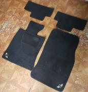 2012 mini Cooper floor Mats with the Lego on the