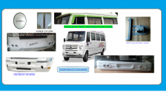tempo traveller alteration bumper