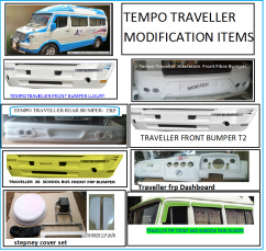 Tempo Traveller modification spare parts