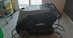 Car washer steamer with fom, compressor, and tools