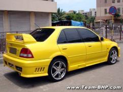 Car body kits mod bumpers