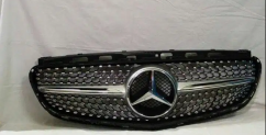 Mercedes Benz GLC GLE front diamond grill