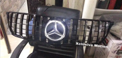 Mercedes benz gtr grill without illuminated star