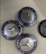 Mercedes Alloy wheels logos