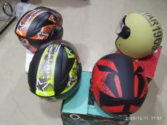 O2 Half and Full Helmets