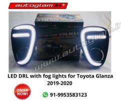 Toyota Glanza LED DRL Fog Light accessories in Delhi