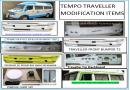 Tempo Traveller Modification Spare Parts