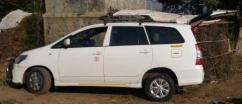 White Coloured Toyota Innova 2.5 GX 7 STR BS IV