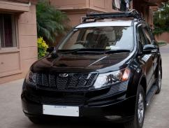 Black In Color Mahindra XUV 500