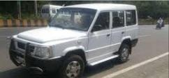 White In Color Tata Sumo Gold