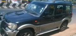 Mahindra Scorpio In Black Color