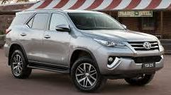 2016 Model Toyota Fortuner