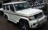 Mahindra Bolero 2012 Model In White Color