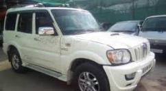 2014 Model Mahindra Scorpio In White Color