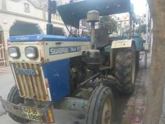 Swaraj 744 FE Tractor 2005 With Trailor