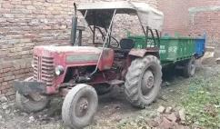 Mahindra tractor 225 94 model ll trolley trolley 5 feet 10