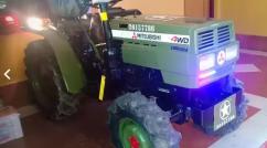Mitsubishi 4x4 quad bike tractor