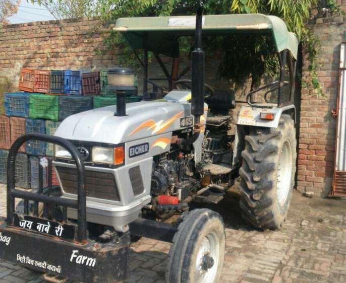 Eicher tractor 485