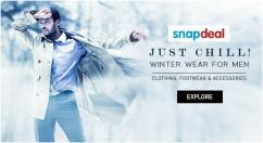 Just Chill Winter Wear For Men Best Offers on Clothing