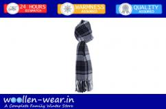 Mens Wool scarfs add style for winter look around the neck