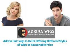 Hair wigs in Delhi are Available in Affordable Price