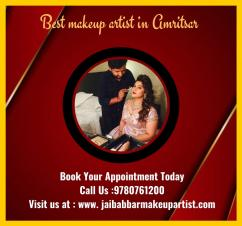 Best makeup artist in Amritsar