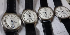 HMT pilot white dial blue hands binding watches for sale