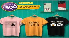 Get Attractive Printed t shirts and mobile covers