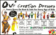 Fancy costume with free home delivery in Navi Mumbai thane dombivli kalyan rout.