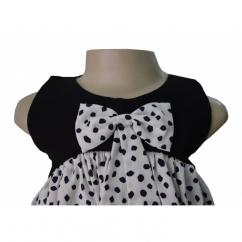 Best Ruffled Crepe Baby Frocks at Faye Store
