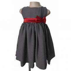 Kids Birthday Dresses in Stripe Pattern at Faye Store