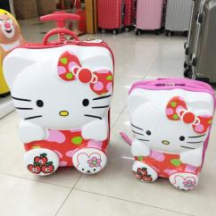 Brand New Suitcase With Cartoon Print