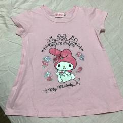 Girls Top In Cotton Fabric Available