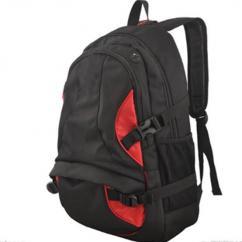 School Bag In Black Color