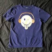 Kids T-shirt in Navy blue color