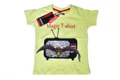 Digital Printed Magic T-shirt for Kids