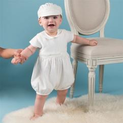 Baptism Dress & Cap for Boys