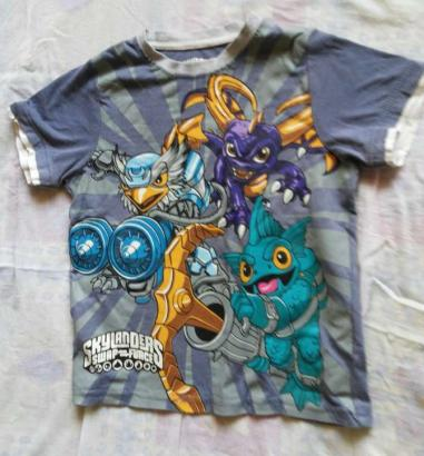 Printed Tshirts For Kids In Monster Design