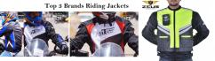 Top 3 brands riding jackets
