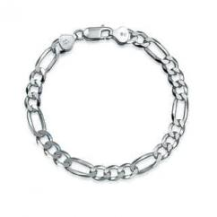 Artificial Silver Bracelet For Men