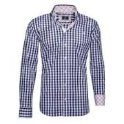Printed Shirt With Check Print Available