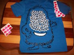 Blue Coloured T-shirt For Boys Available